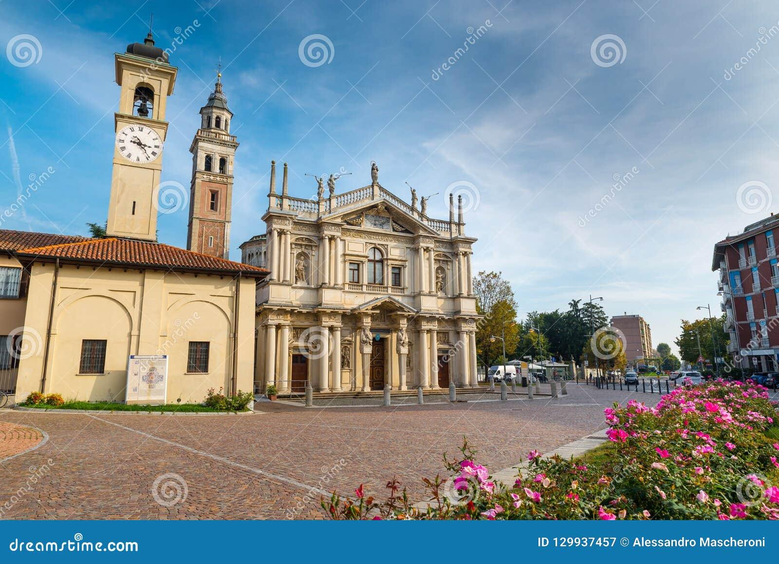 Schongebiet unserer Dame der Wunder, Saronno, Italien; war erklärtes Teil des europäischen Erbes