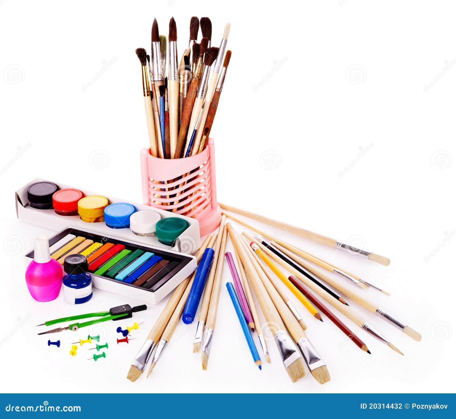 School Art Supplies Stock Photography Image 20314432