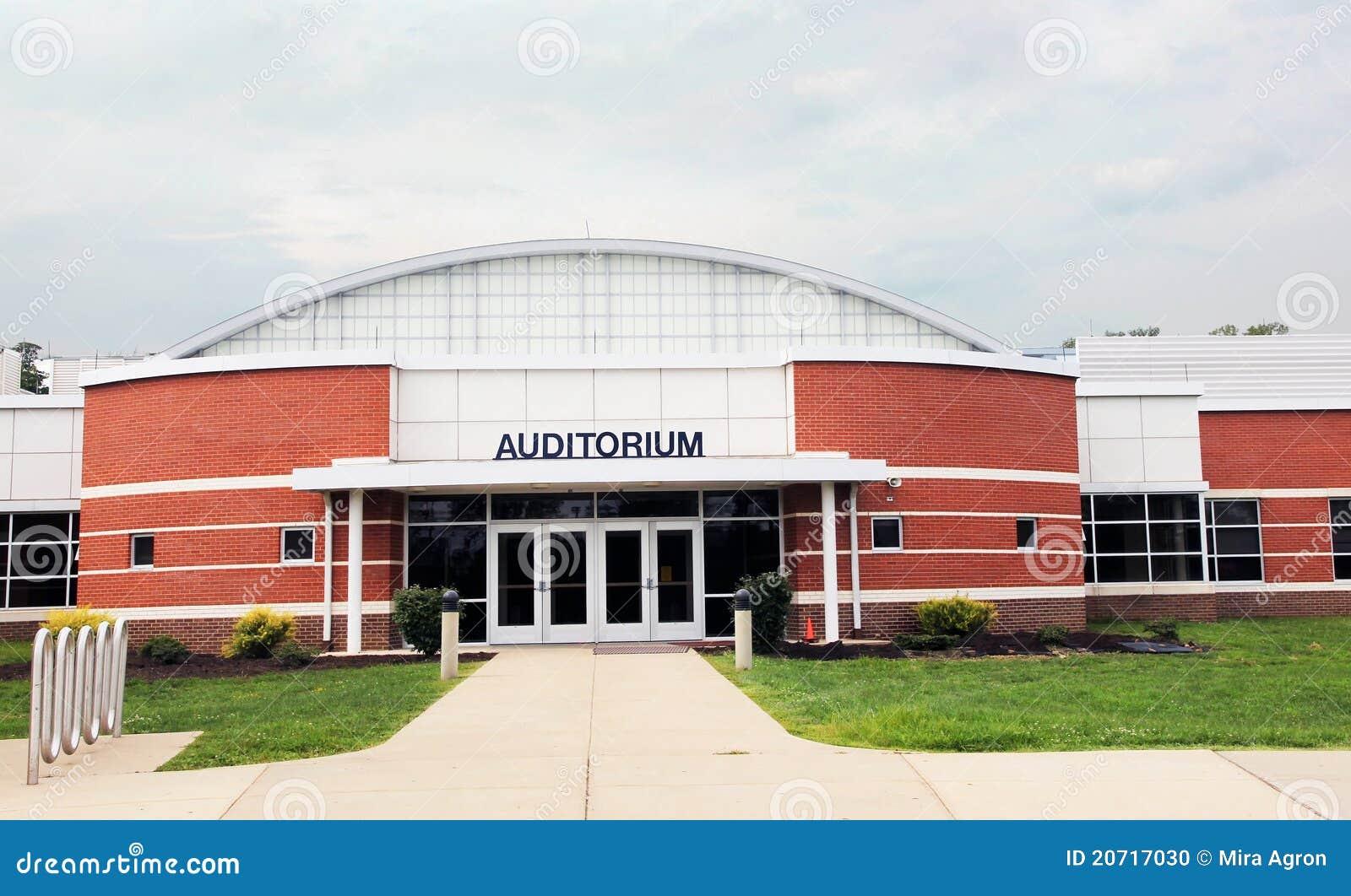 School Auditorium Stock Photo - Image: 20717030