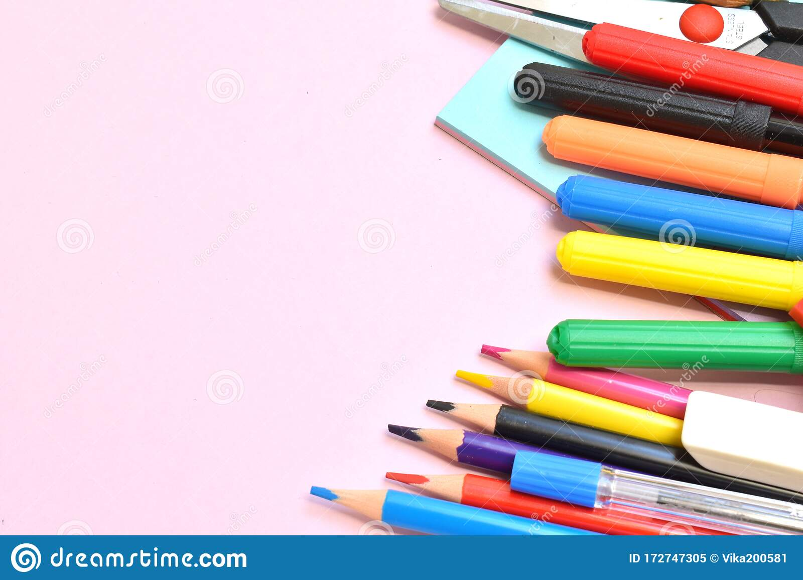 Education Background Stationery Training Time School Knowledge Stock Image Image Of Learning Notebook 172747305
