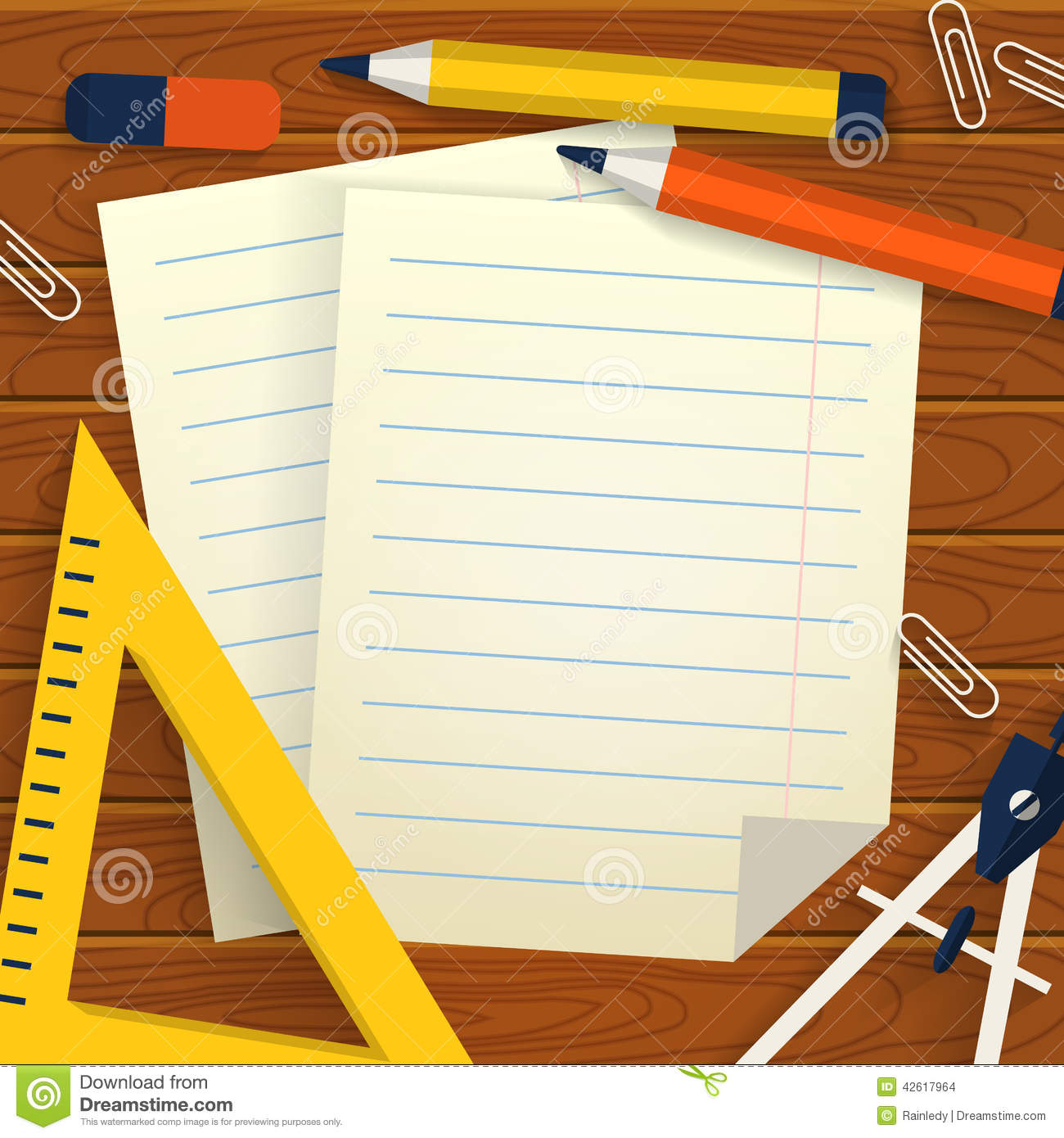 Lined school paper stock images, royalty free images