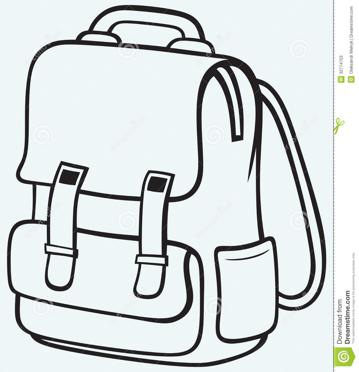 School Bag Stock Photos - Image: 32774753