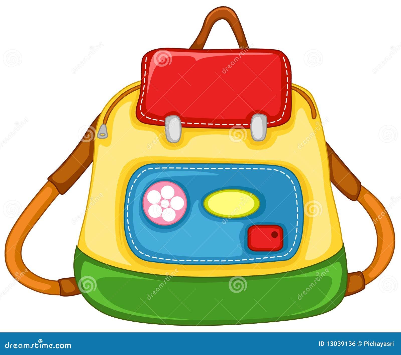 school bag images clip art