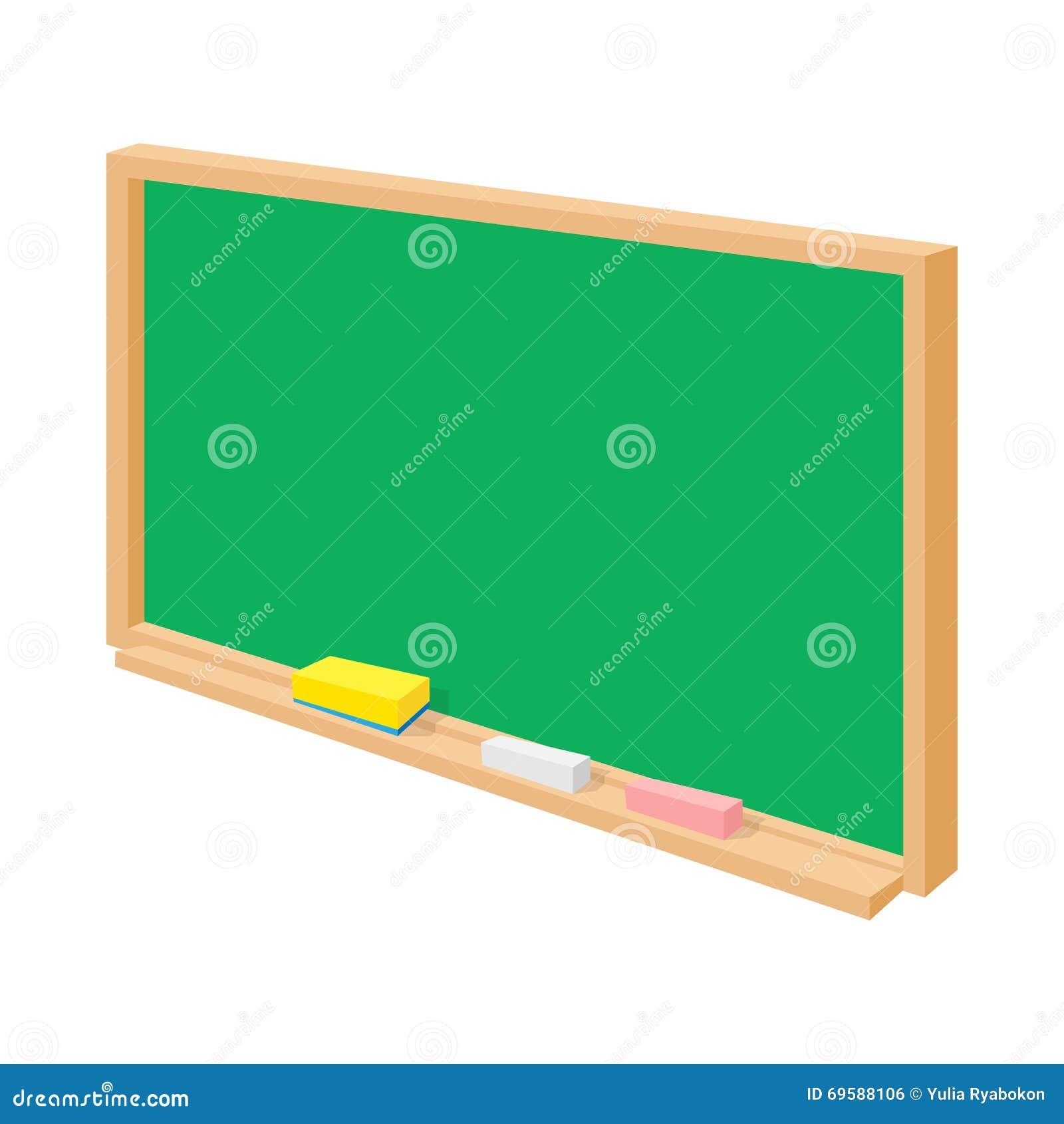 school green board in cartoon style cartoon vector Boy Studying Studying Clip Art