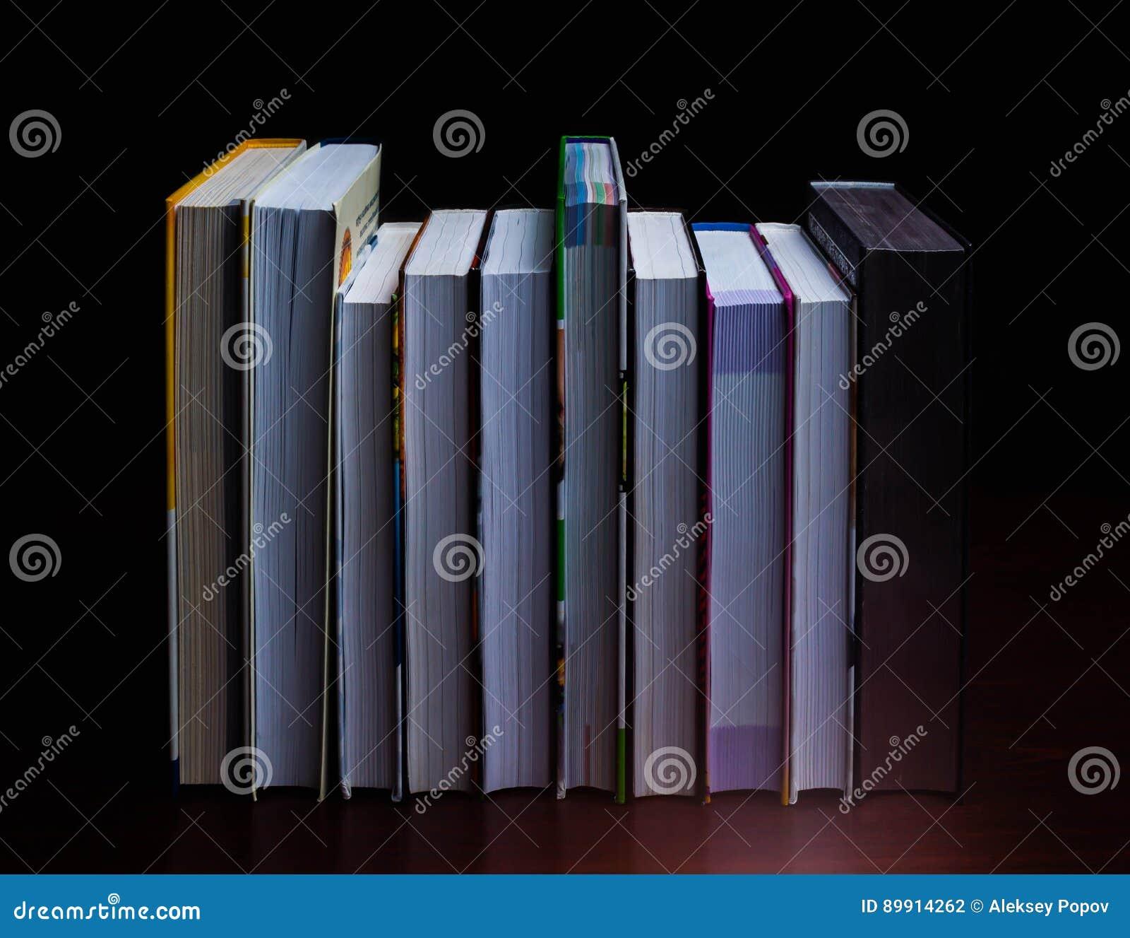 School Books On Desk, Education Concept, Educate, Technology