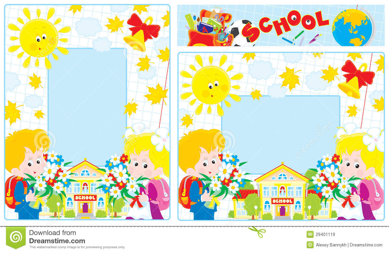 school borders stock vector. illustration of grammar - 29401119