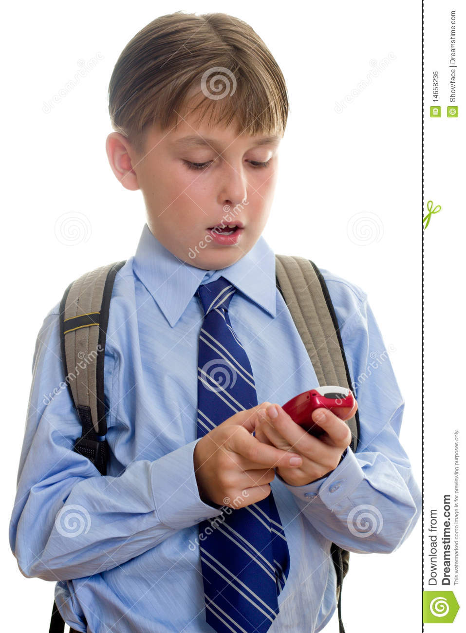 Https Www Dreamstime Com Royalty Free Stock Image School Boy Child Sms Texting Image14658236