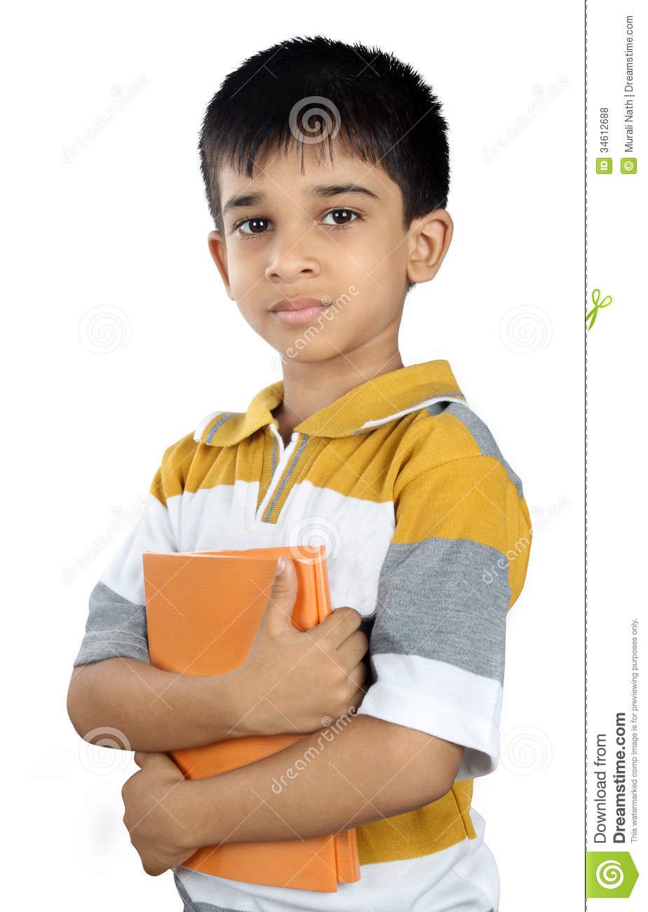 School Boy With Textbook Royalty Free Stock Photos - Image: 34612688
