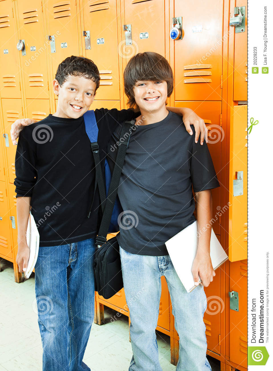 School Boys - Best Friends Stock Photos - Image: 20228233