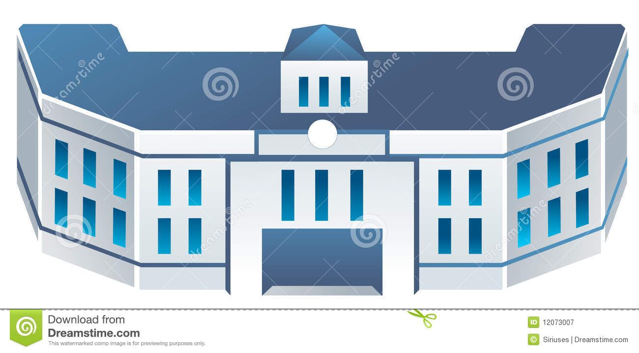 School Building Royalty Free Stock Photography - Image ...