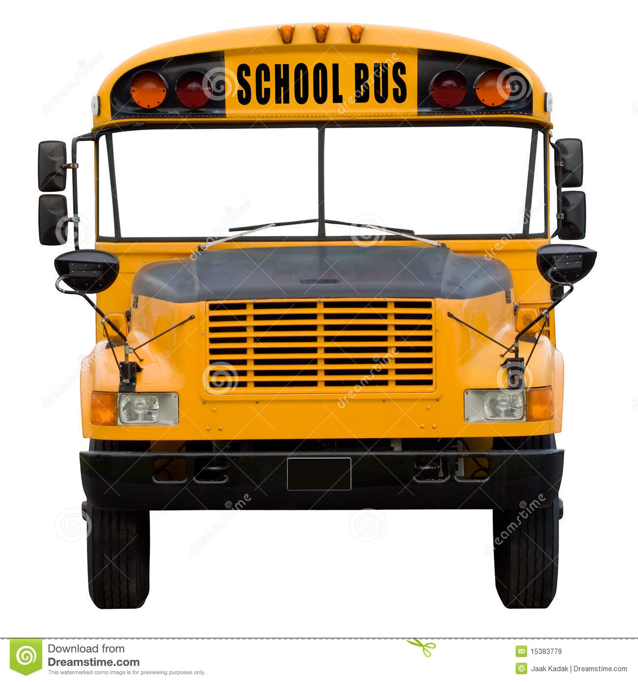 School Bus Royalty Free Stock Images - Image: 15383779