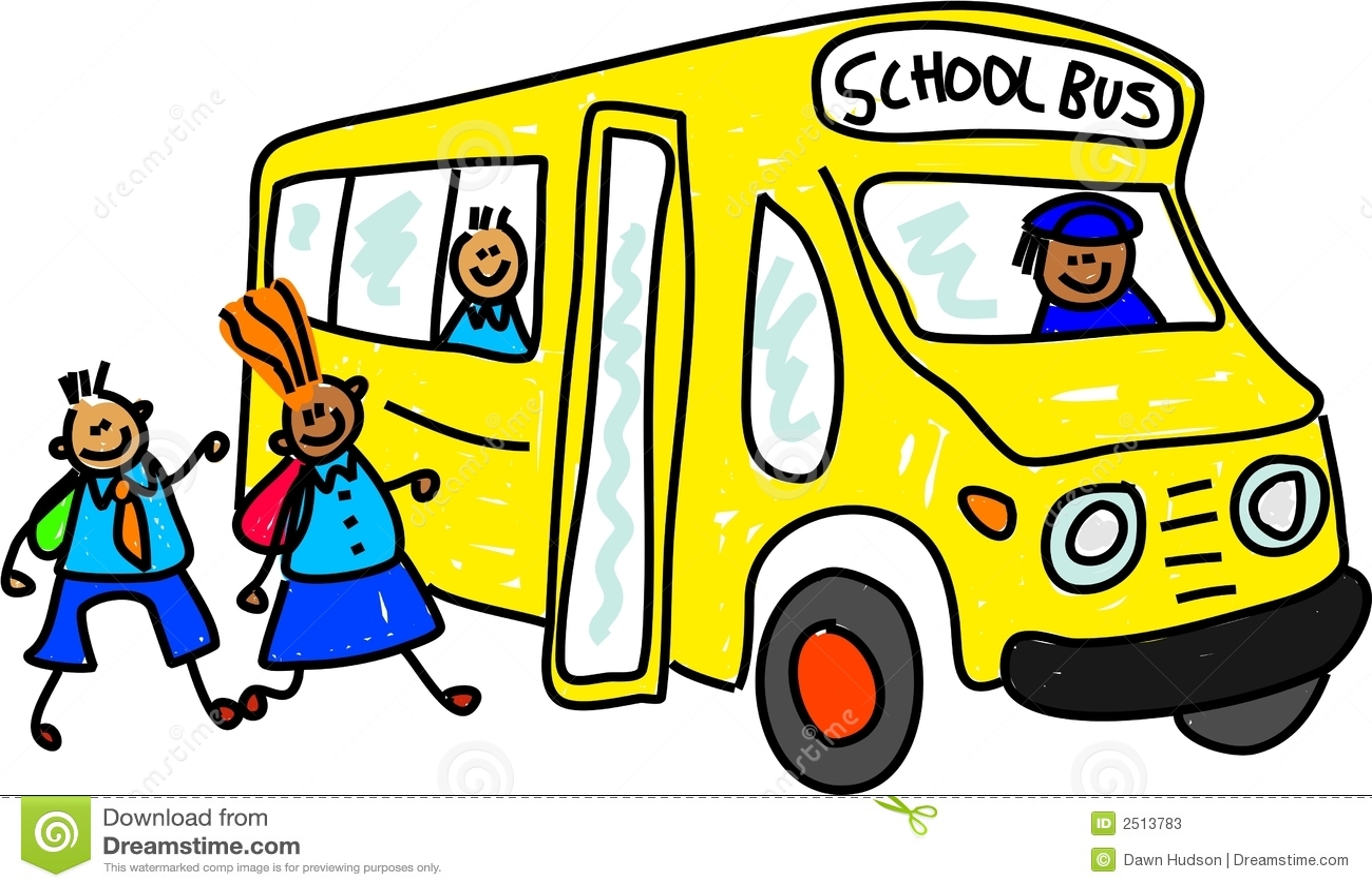 school bus stock illustration illustration of clipart 2513783 rh dreamstime com school bus clip art images Bus Clip Art Black and White School