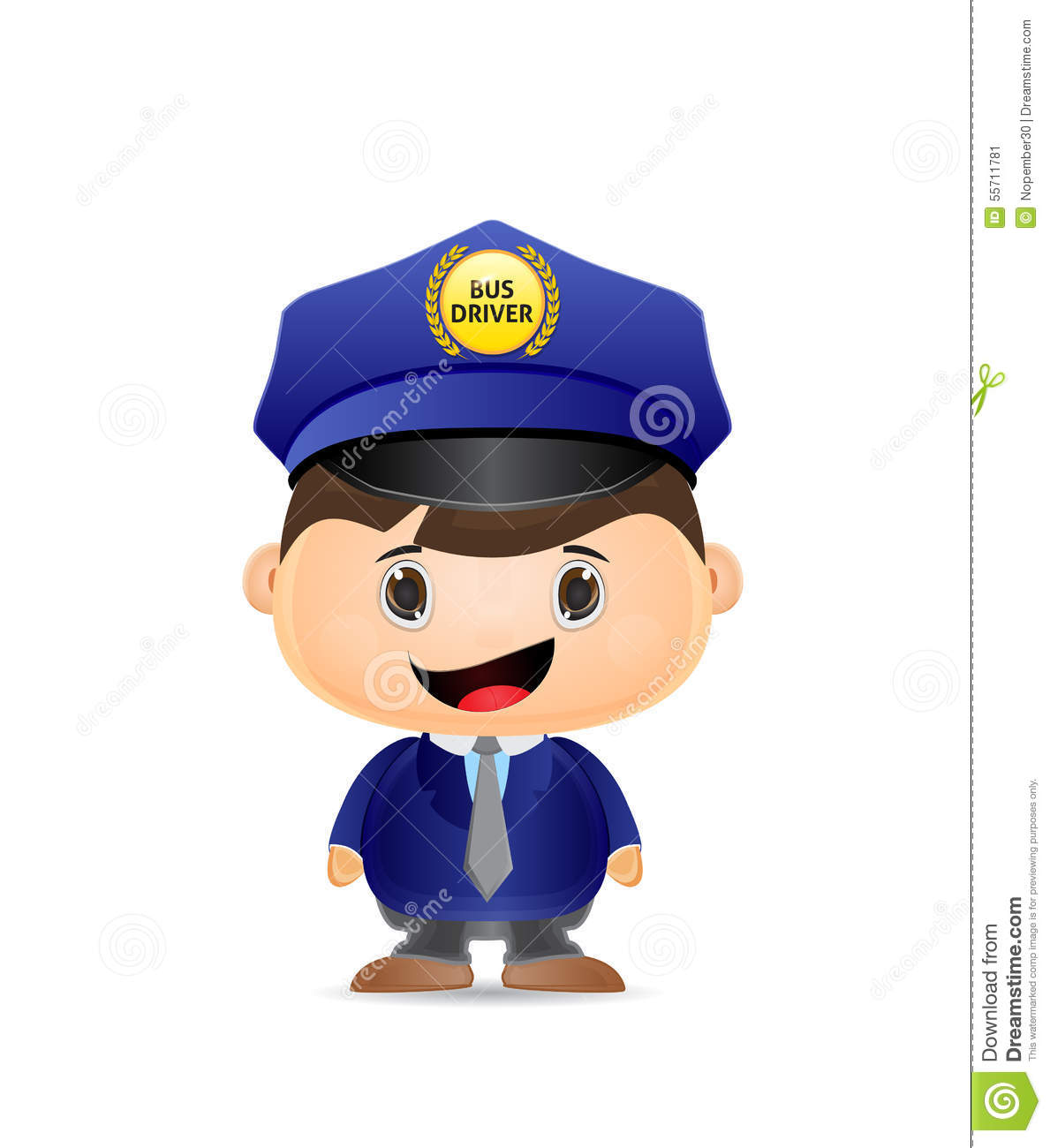 Bus Driver Clipart - Clipart Kid