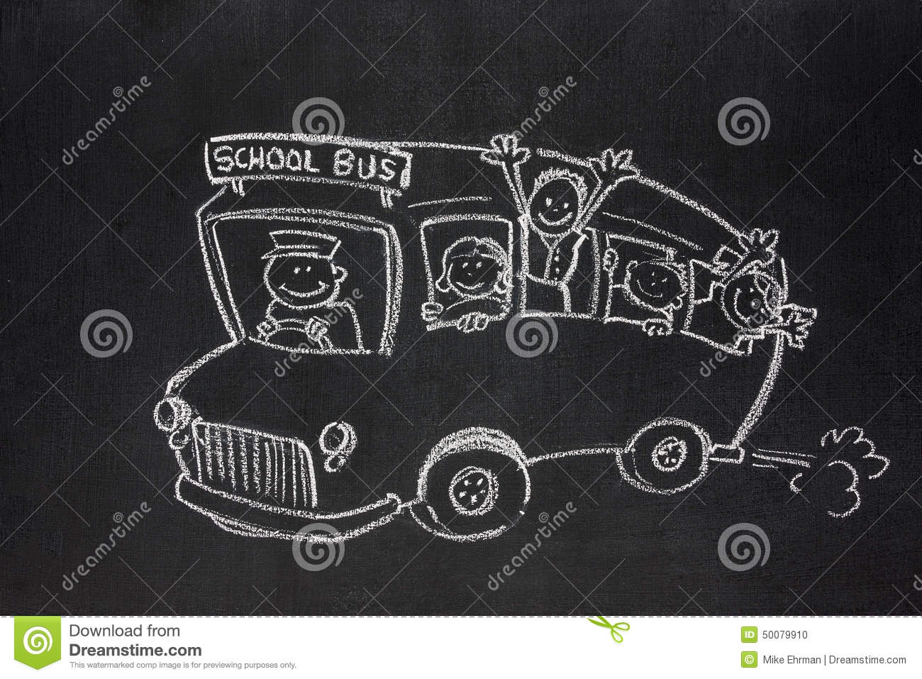 School bus stock photo. Image of graphic, young ...