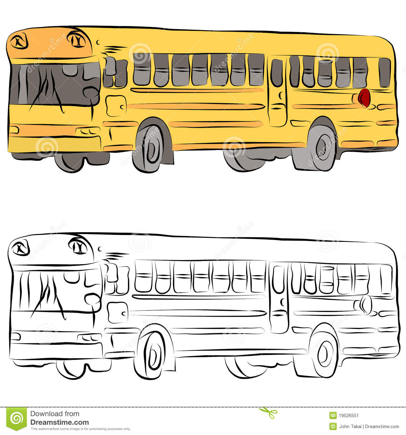 Uncategorized School Bus Drawings school bus line drawing stock image 19526551 royalty free photo download drawing