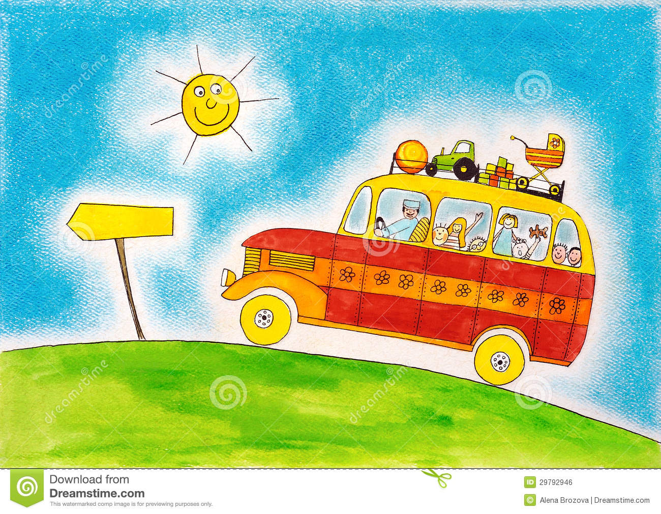 Clipart Image Of School Bus