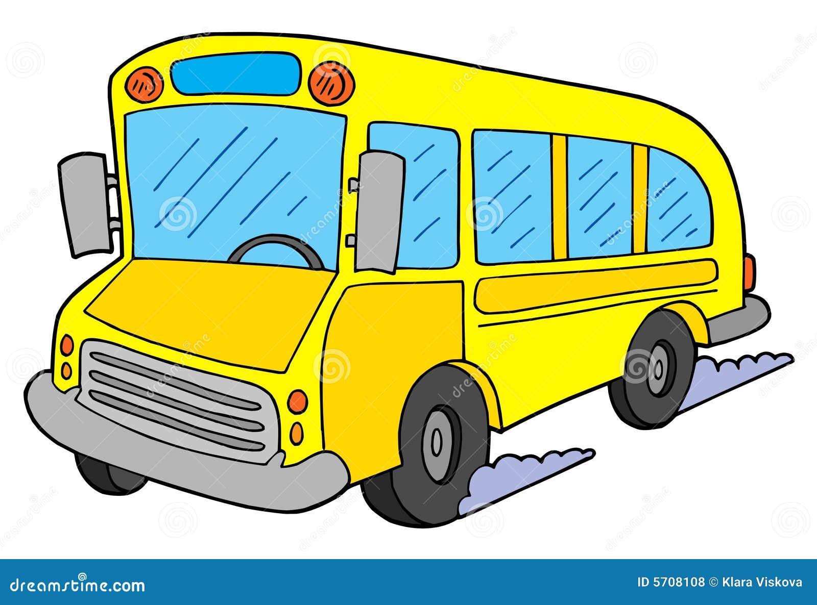 School Bus Vector Illustration | CartoonDealer.com #5708108