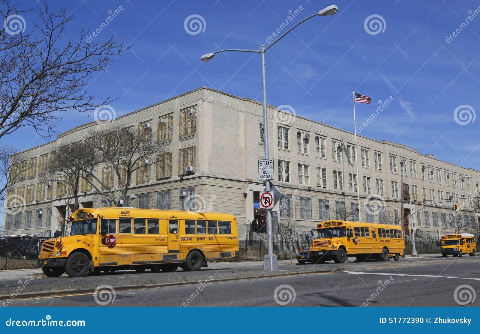 school buses editorial image 67760118. Black Bedroom Furniture Sets. Home Design Ideas