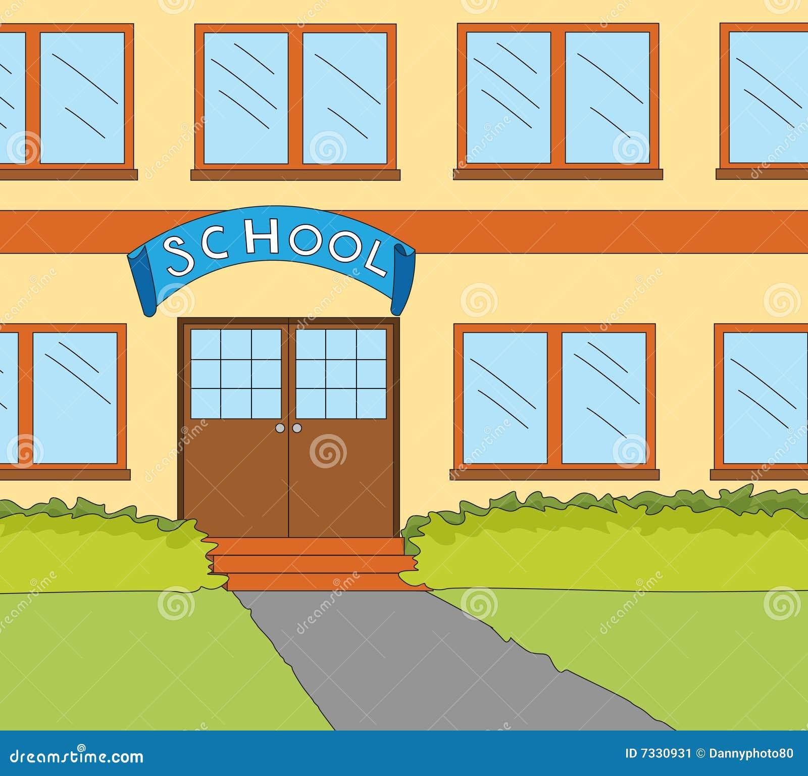 School Window Clipart school classroom window stock image - image: 7330931