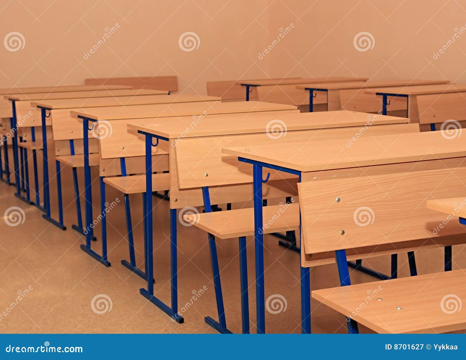 school desks royalty free stock photography image 8701627