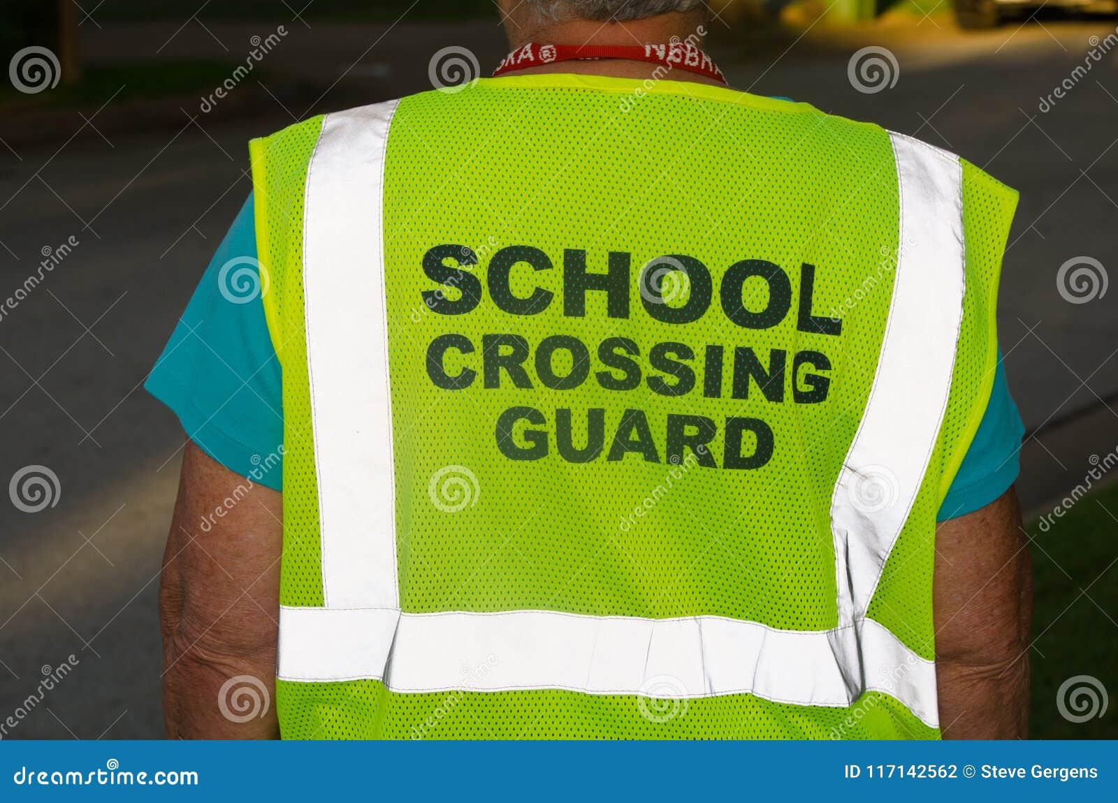 School die Wacht Vest kruisen