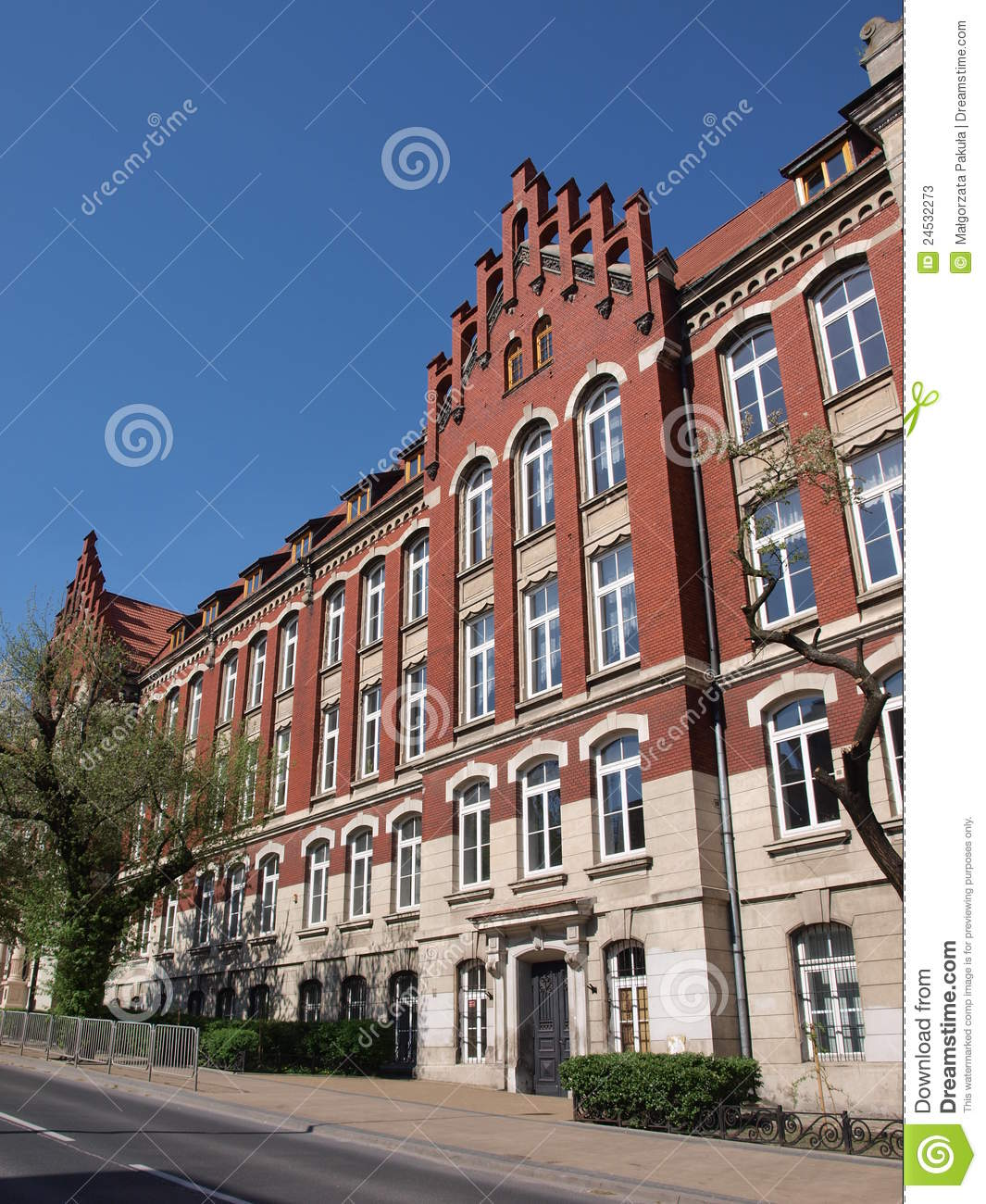 School Of Economics Lublin Poland Stock Photos Image 24532273