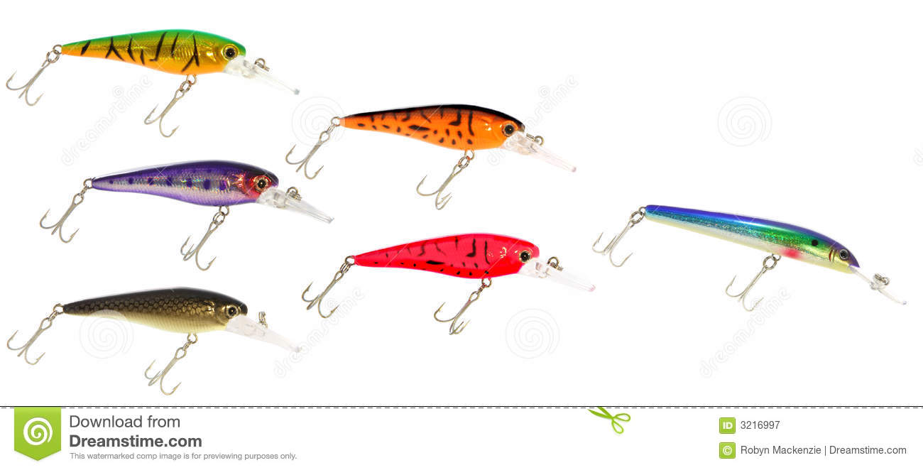 School of fishing lures royalty free stock photography for School of fish lure