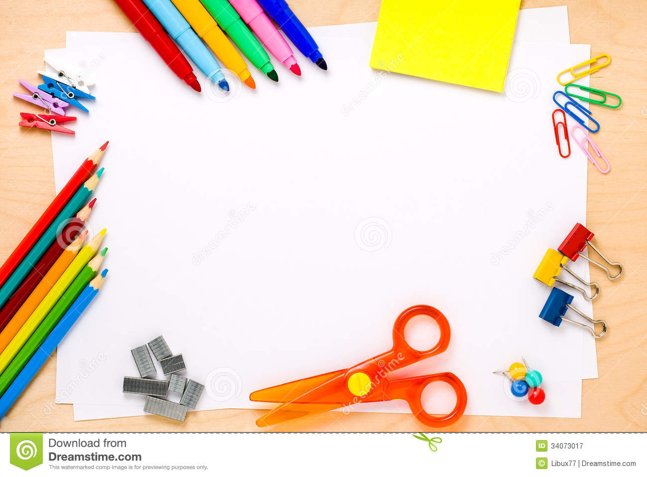 School frame background copyspace royalty free stock for Scuola web design