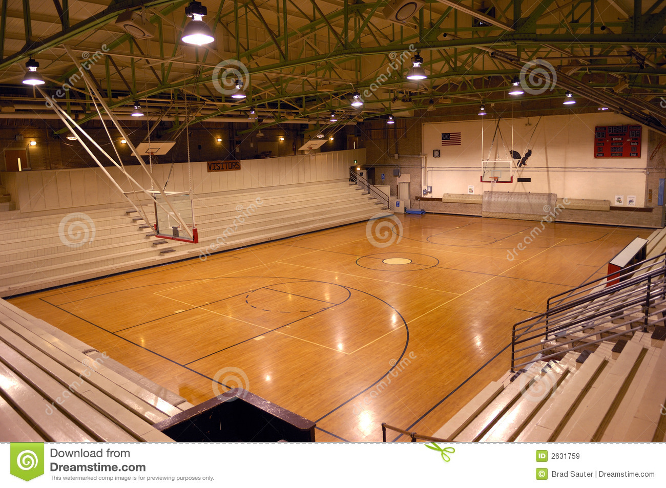 School Gym Royalty Free Stock Images Image 2631759