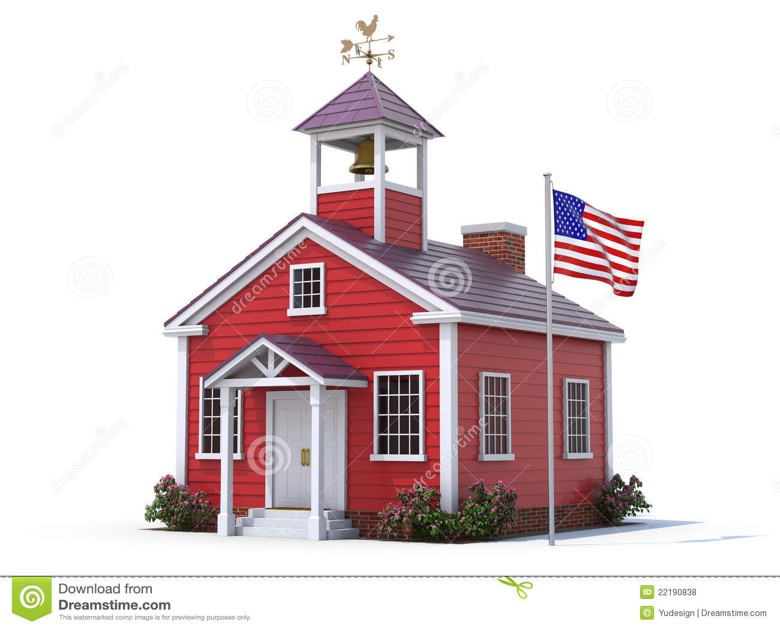 School House Royalty Free Stock Photos Image 22190838