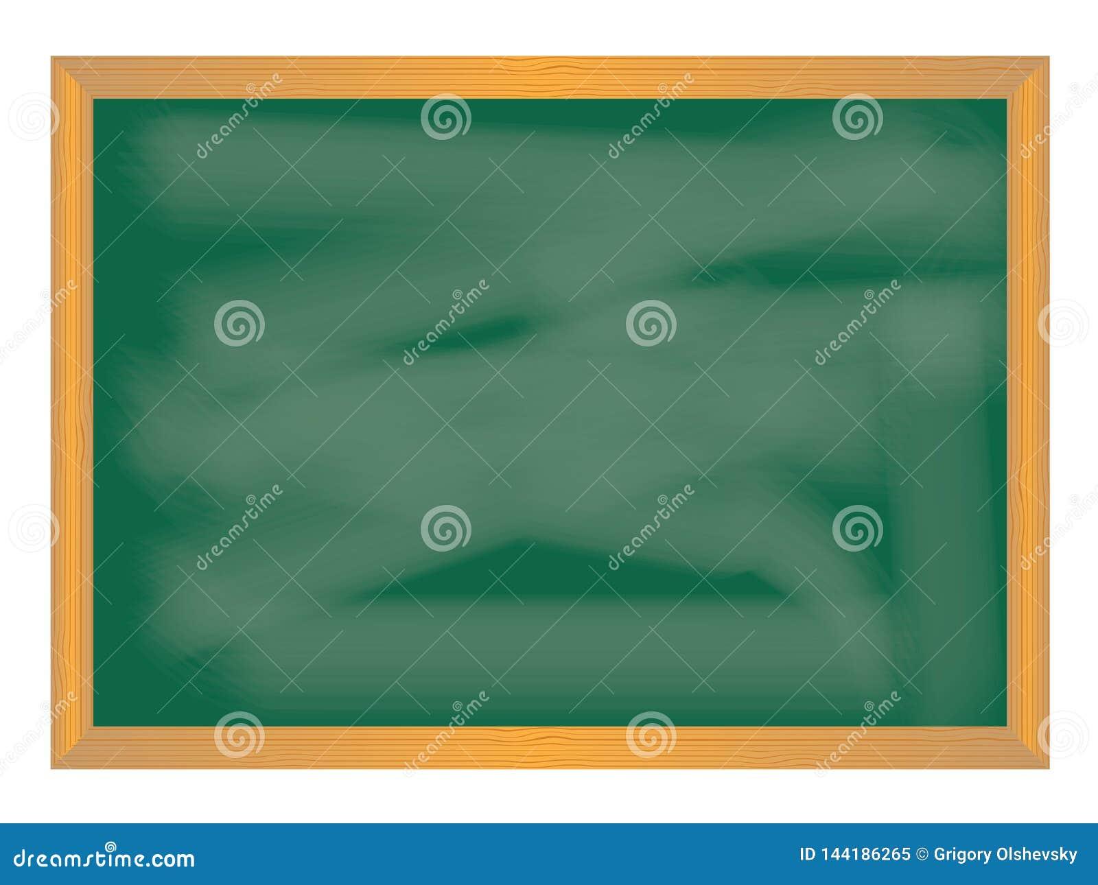 School icons on chalkboard