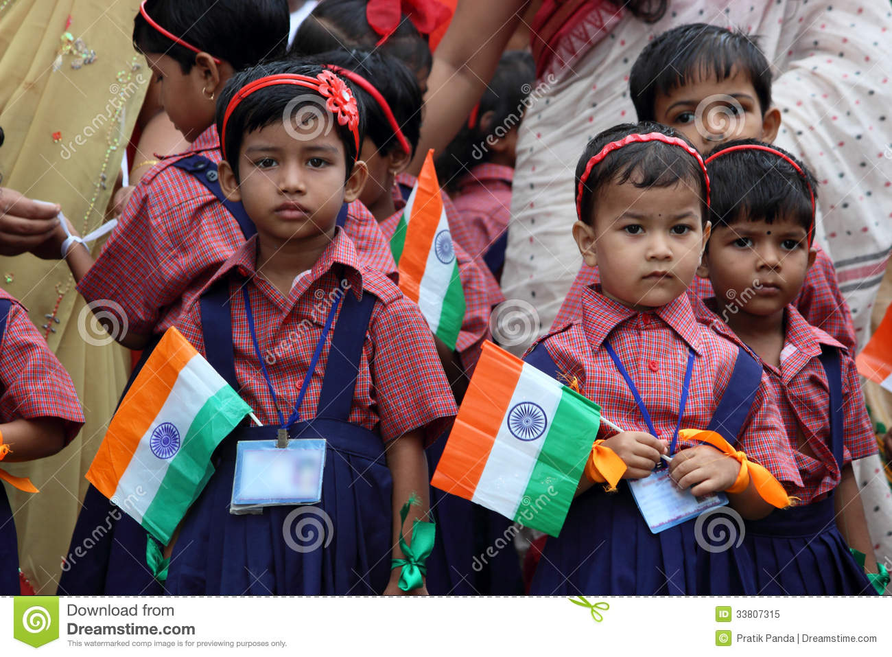 School Independence Day Celebration By Kids Editorial