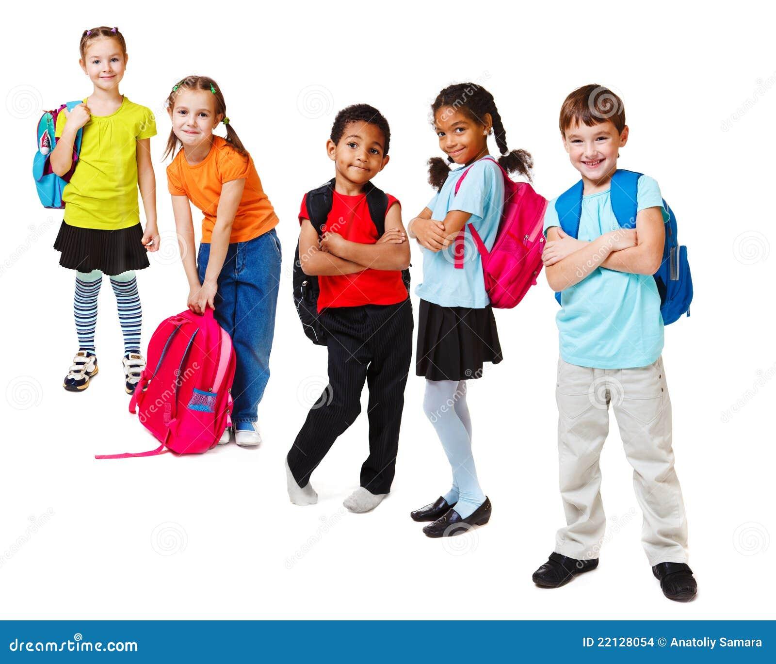 School kids stock photo. Image of girl, little, adorable ...