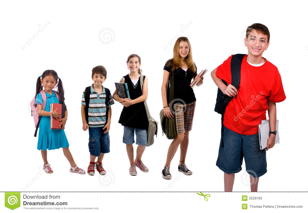 School Kids Royalty Free Stock Photo Image 2529165