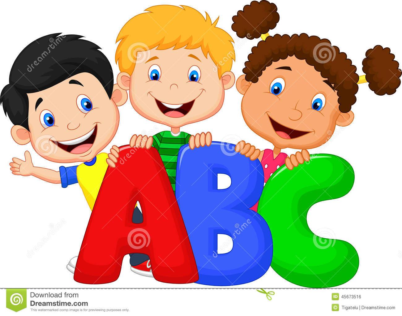 school kids with abc stock vector illustration of grade kids reading clipart png kids reading clipart png