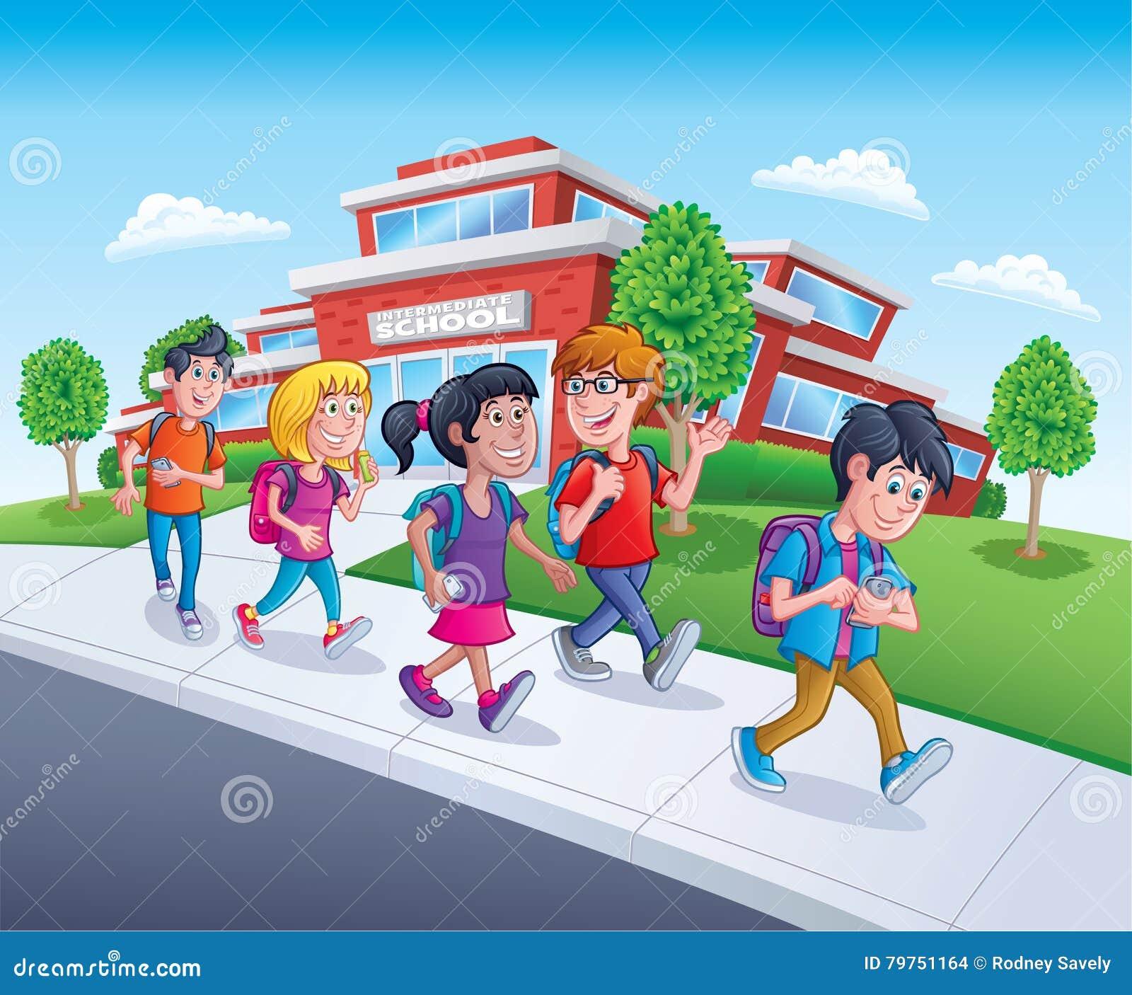 Adolescents Cartoons, Illustrations & Vector Stock Images
