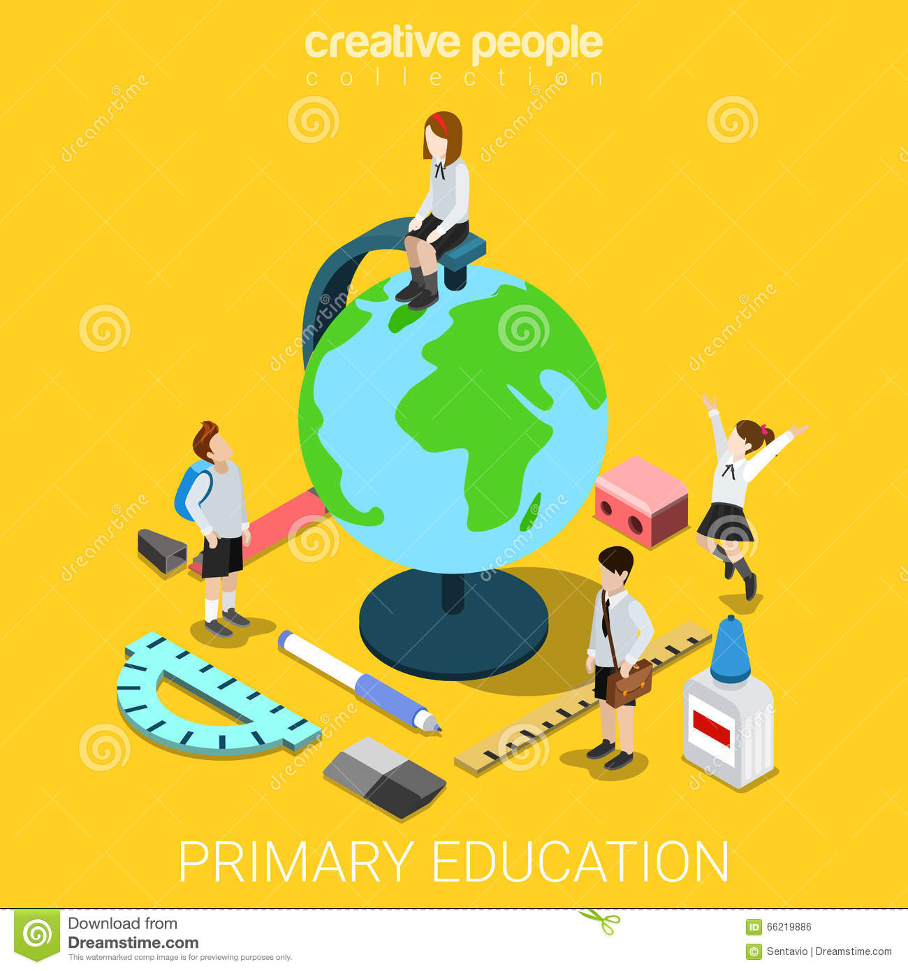 Deciding stock illustrations royalty free gograph - School Life Geography Education Globe Flat 3d Isometric Vector Royalty Free Stock Image