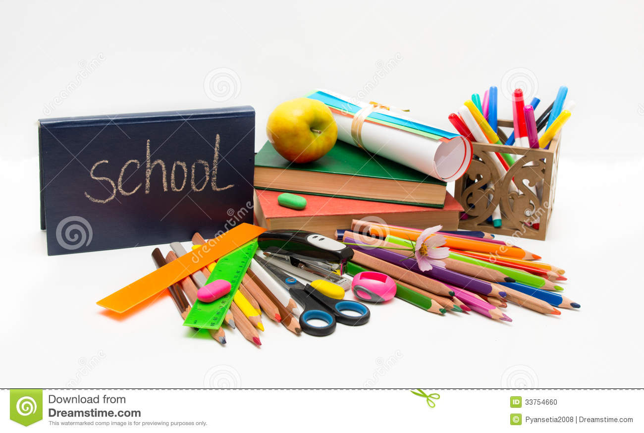 School Objects And App...