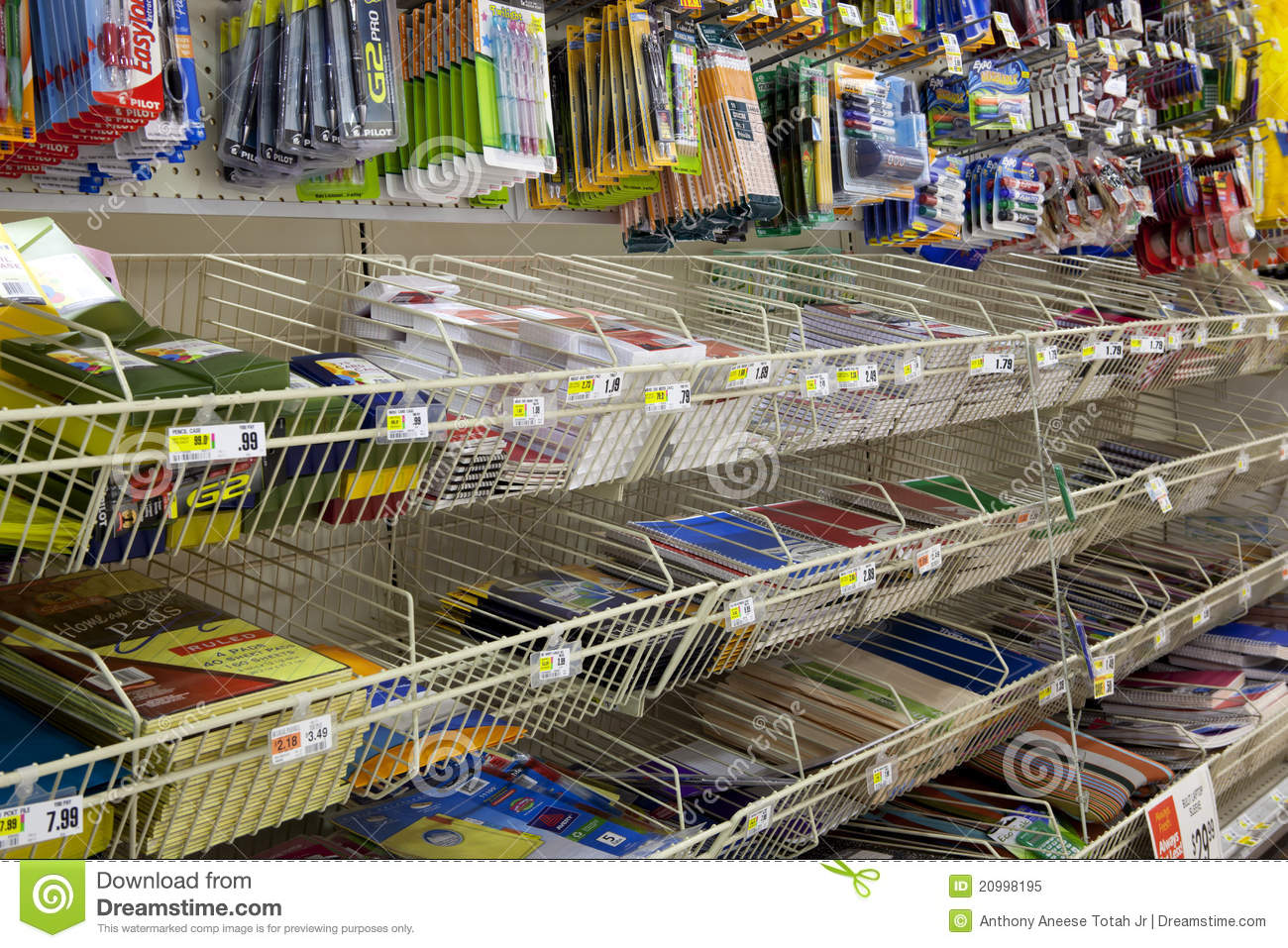School and Office Supply editorial image  Image of empty
