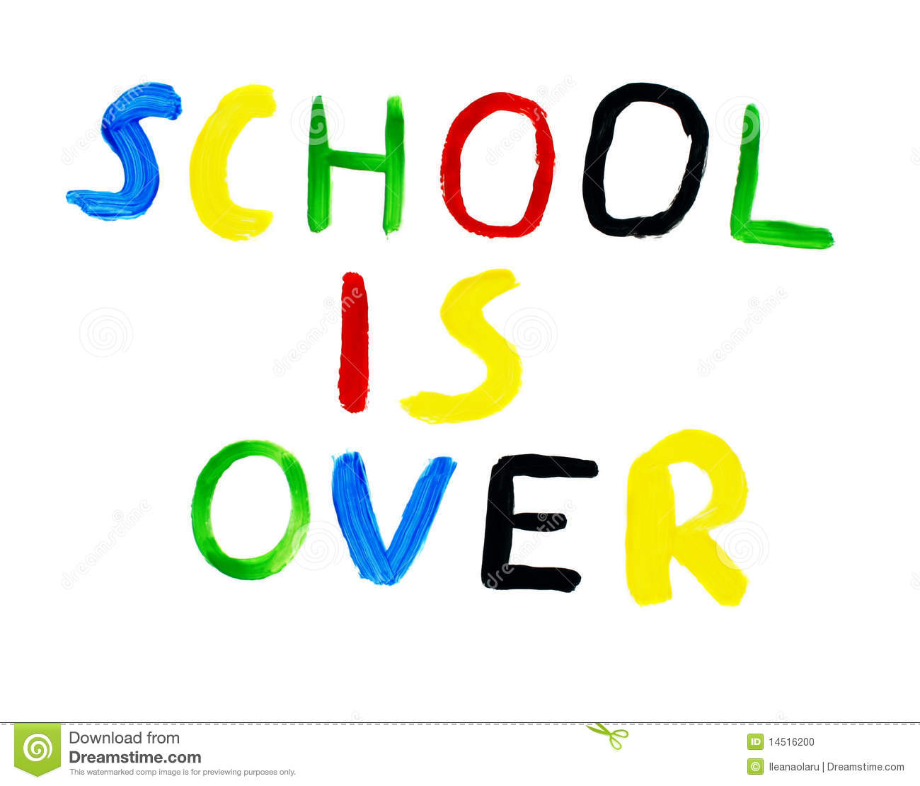 school is over stock photo image of background board 14516200