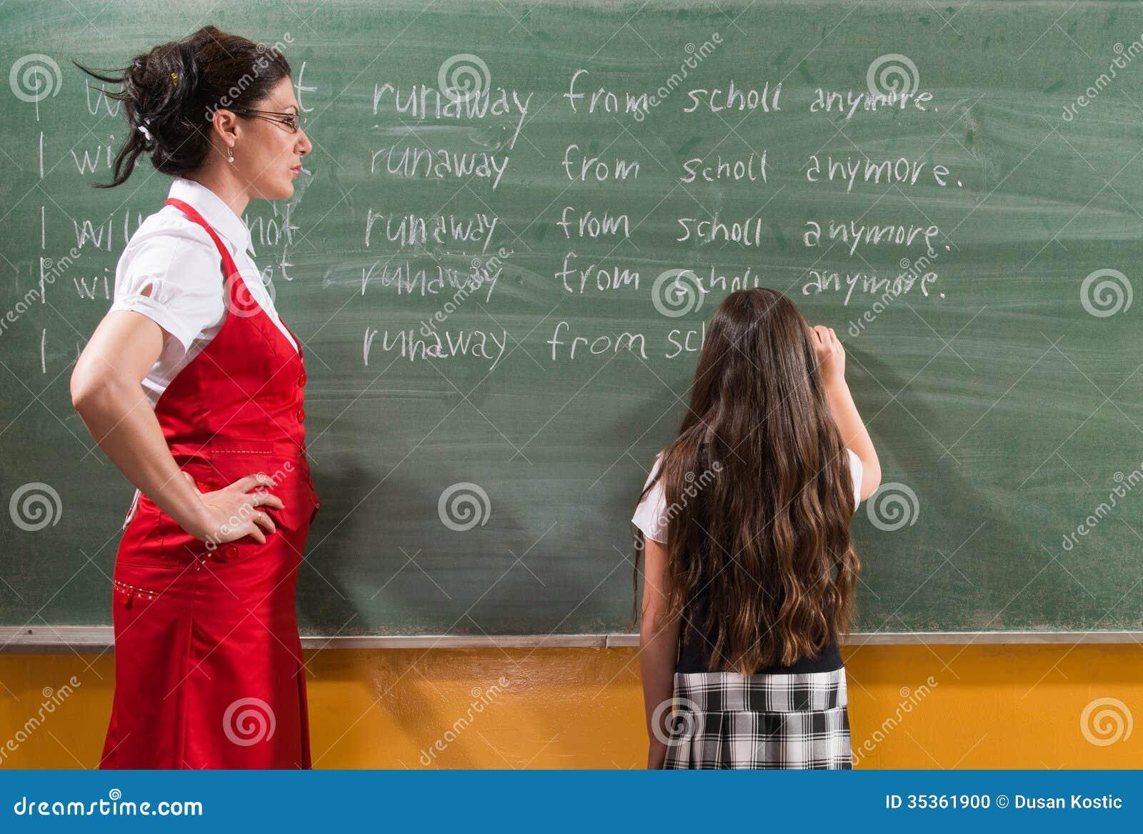 the school punishment stock photo  image of misbehave