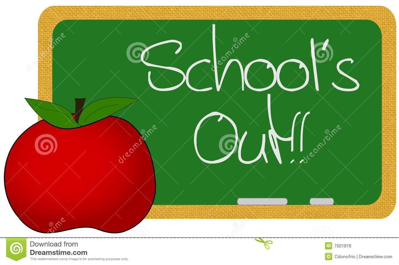 Schools Out For Summer Clipart School s out