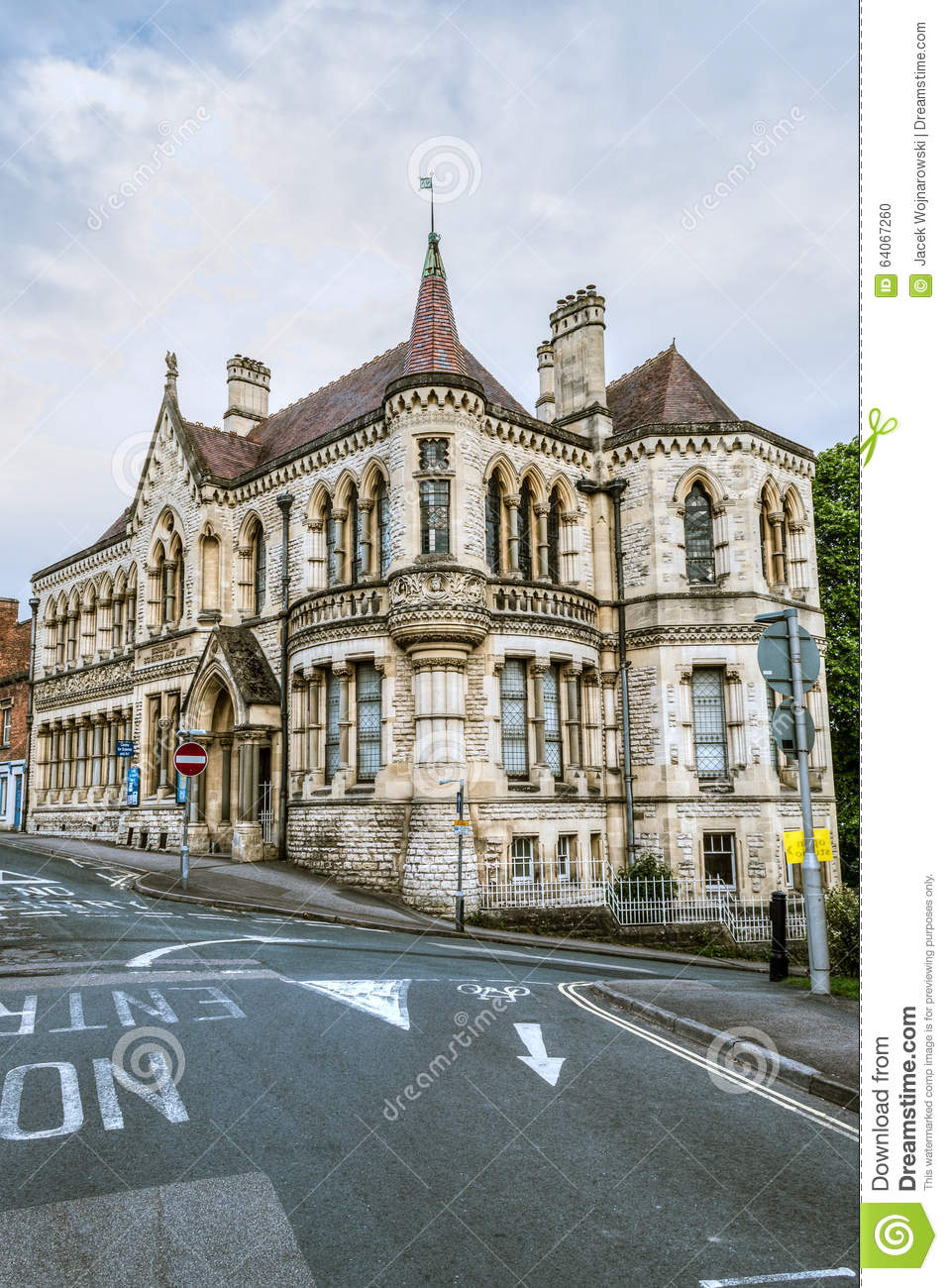 ENGLAND STROUD 25 MAY 2015 School Of Science And Art Victorian