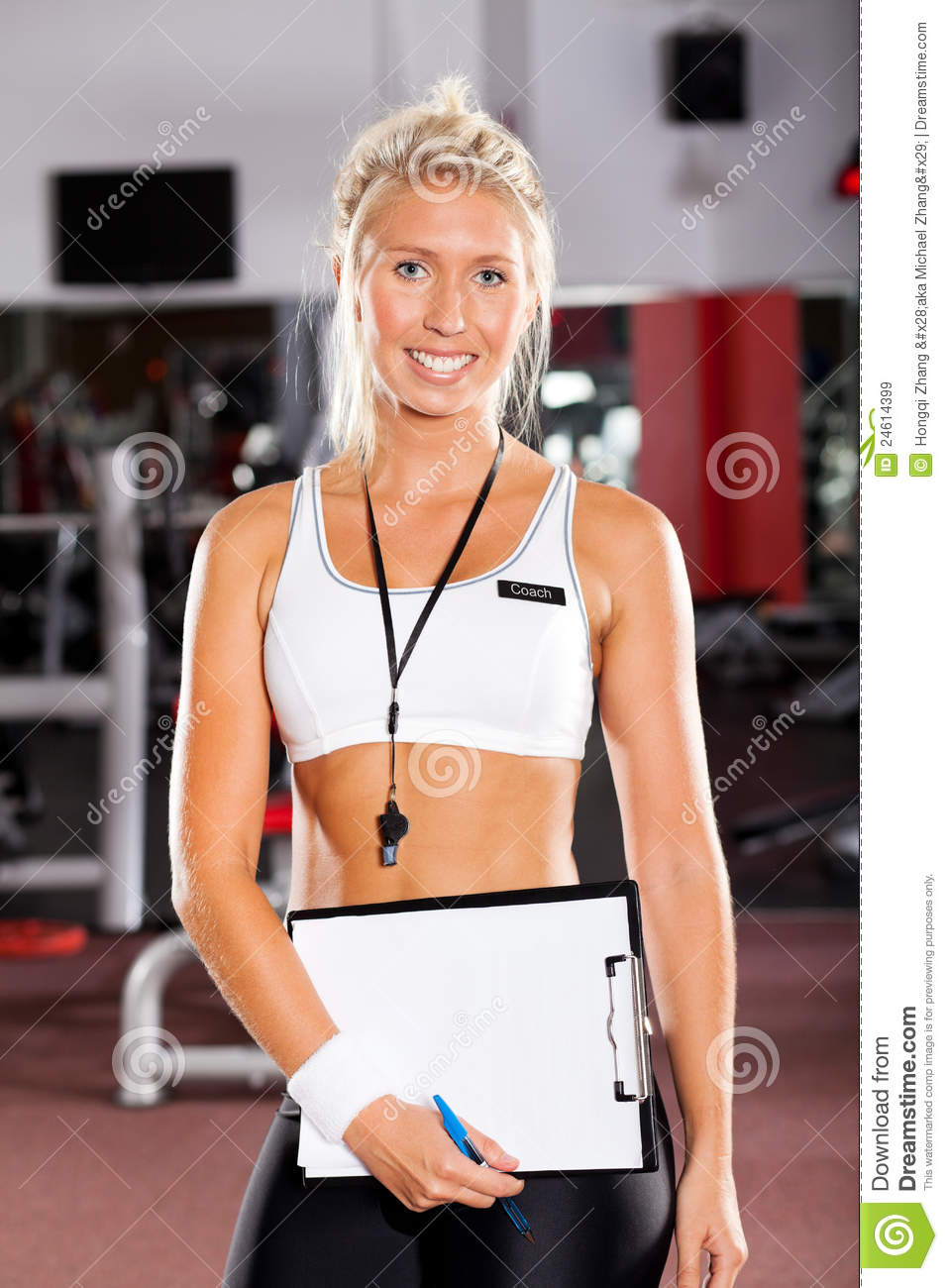 Female Sports Coach Clipart School sport coachFemale Sports Coach