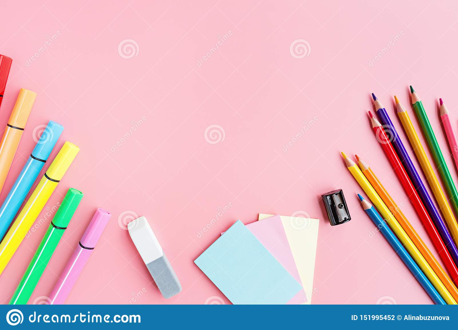 Space product stationery and school supplies