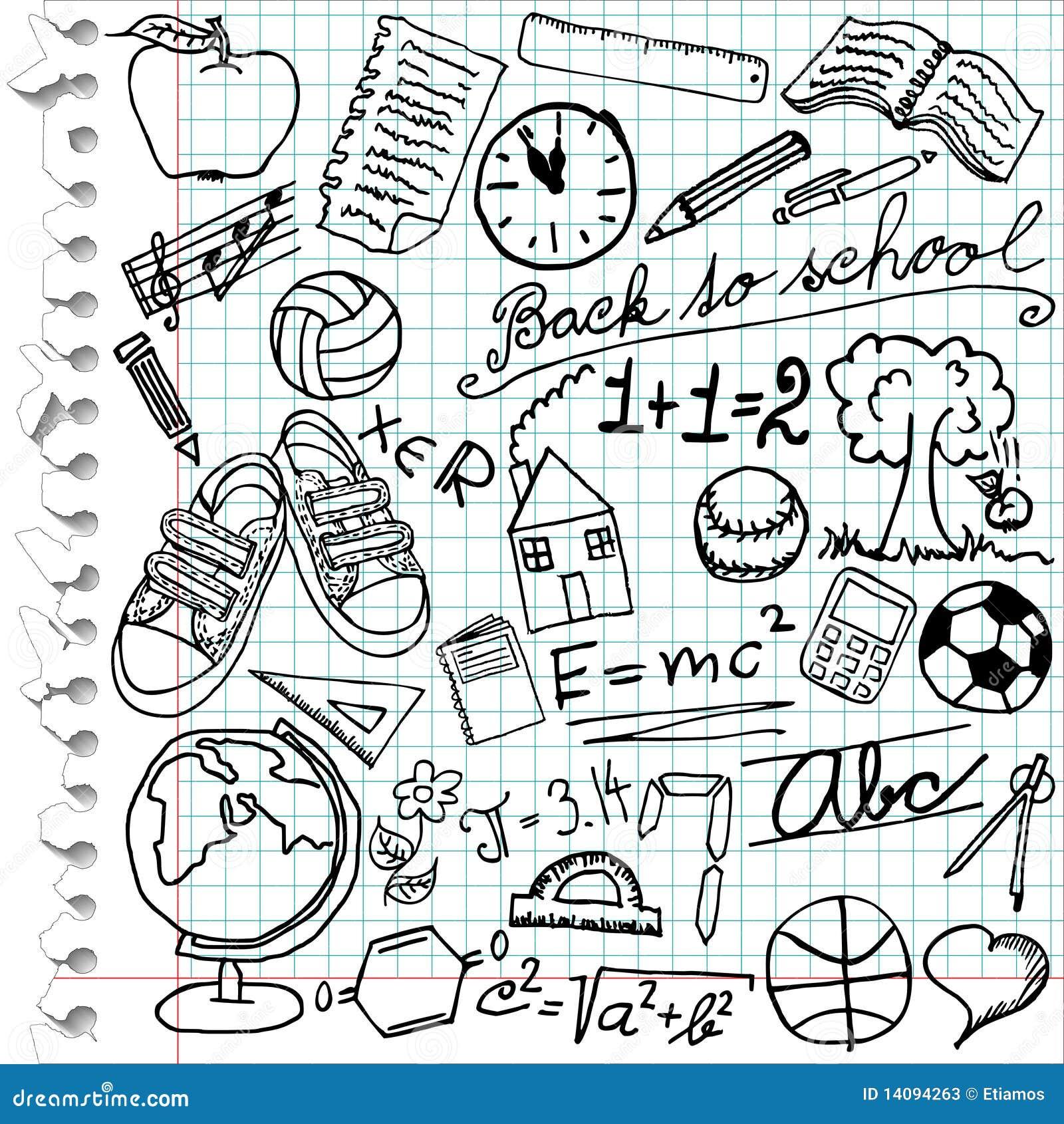 School symbols stock vector illustration of basketball 14094263 school symbols buycottarizona Image collections