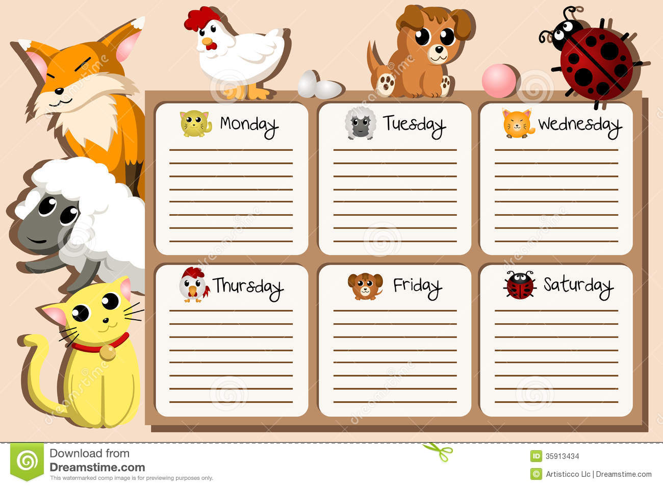 School Timetable Design Images Image 35913434 – School Time Table Designs