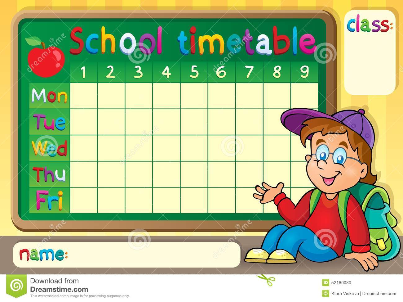 School Timetable Design Photos Images Pictures 462 Images – School Time Table Designs