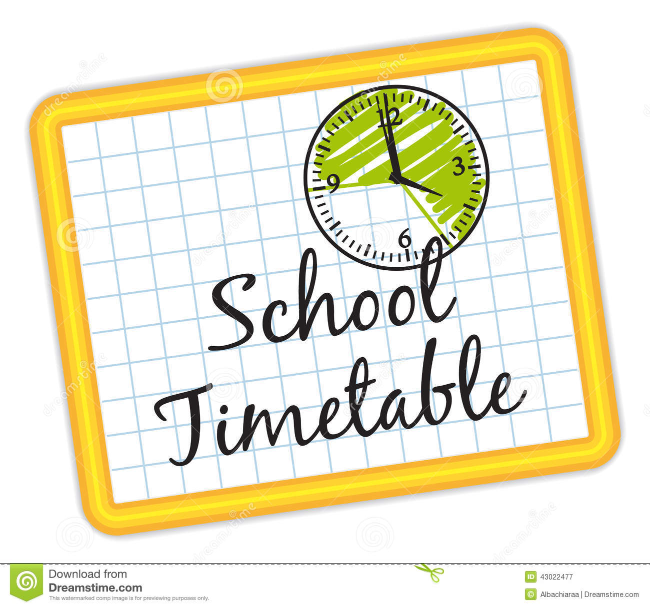 school timetable illustration iv stock vector image old wall clock clipart old wall clock clipart