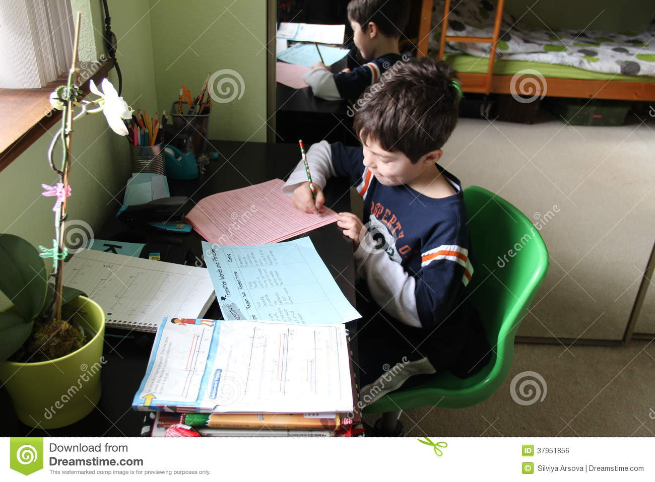 scholastic work from home school work at home royalty free stock image image 37951856 1984